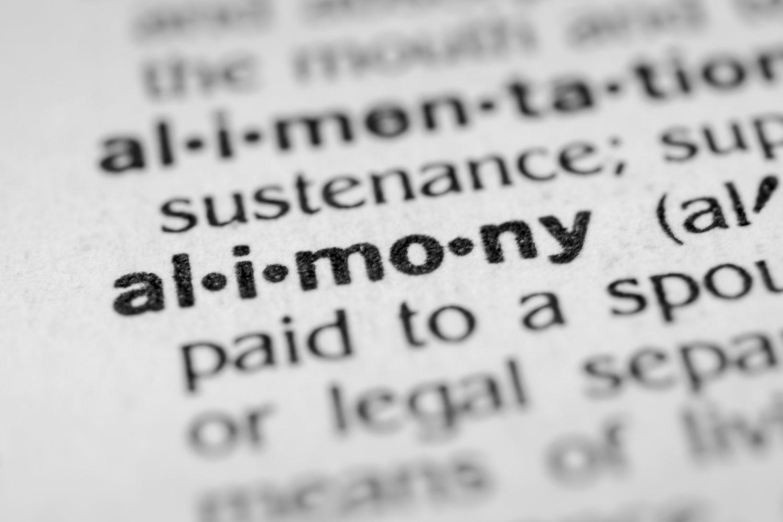 Alimony Deduction Tax Bill